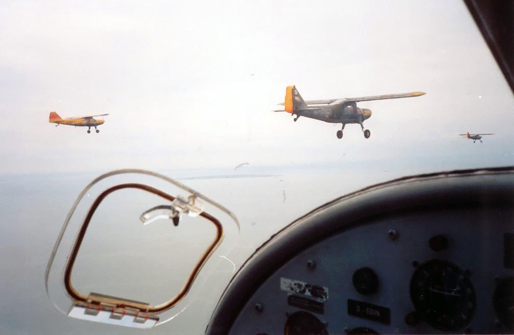 4er-Formationsflug