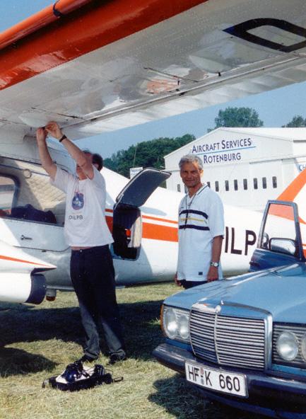 Do 28 Vorflugkontrolle Flug Insel Lampedusa