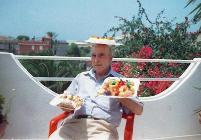 Don Pino Bar L'Amicizia Insel Lampedusa