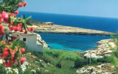 Isola di Lampedusa cala madonna